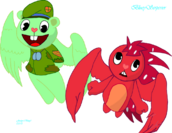 Angel flippy and flaky by blueyserperior-d68aej4
