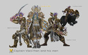 Captain Varo'then and his men