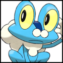 Generation VI Button - Froakie