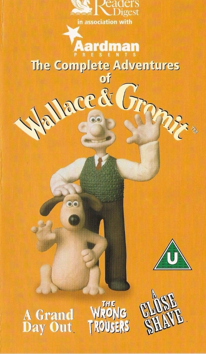opening to the adventures of wallace and gromit 2003 vhs