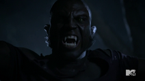Teen Wolf Season 3 Episode 3 Fireflies Sinqua Walls Vernon Boyd werewolf face