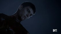 Teen Wolf Season 3 Episode 3 Fireflies dead guy on lifegaurd stand