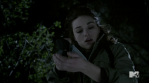 Teen Wolf Season 3 Episode 3 Fireflies Crystal Reed Allison Argent bleeds for bait
