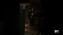 Teen Wolf Season 3 Episode 3 Fireflies Haley Webb Ms. Blake in the boilerroom