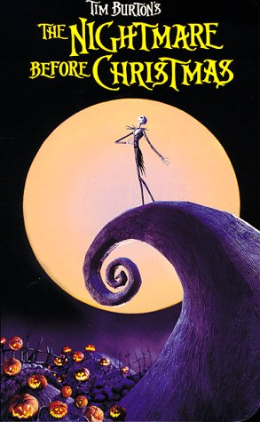 The nightmare before christmas vhs