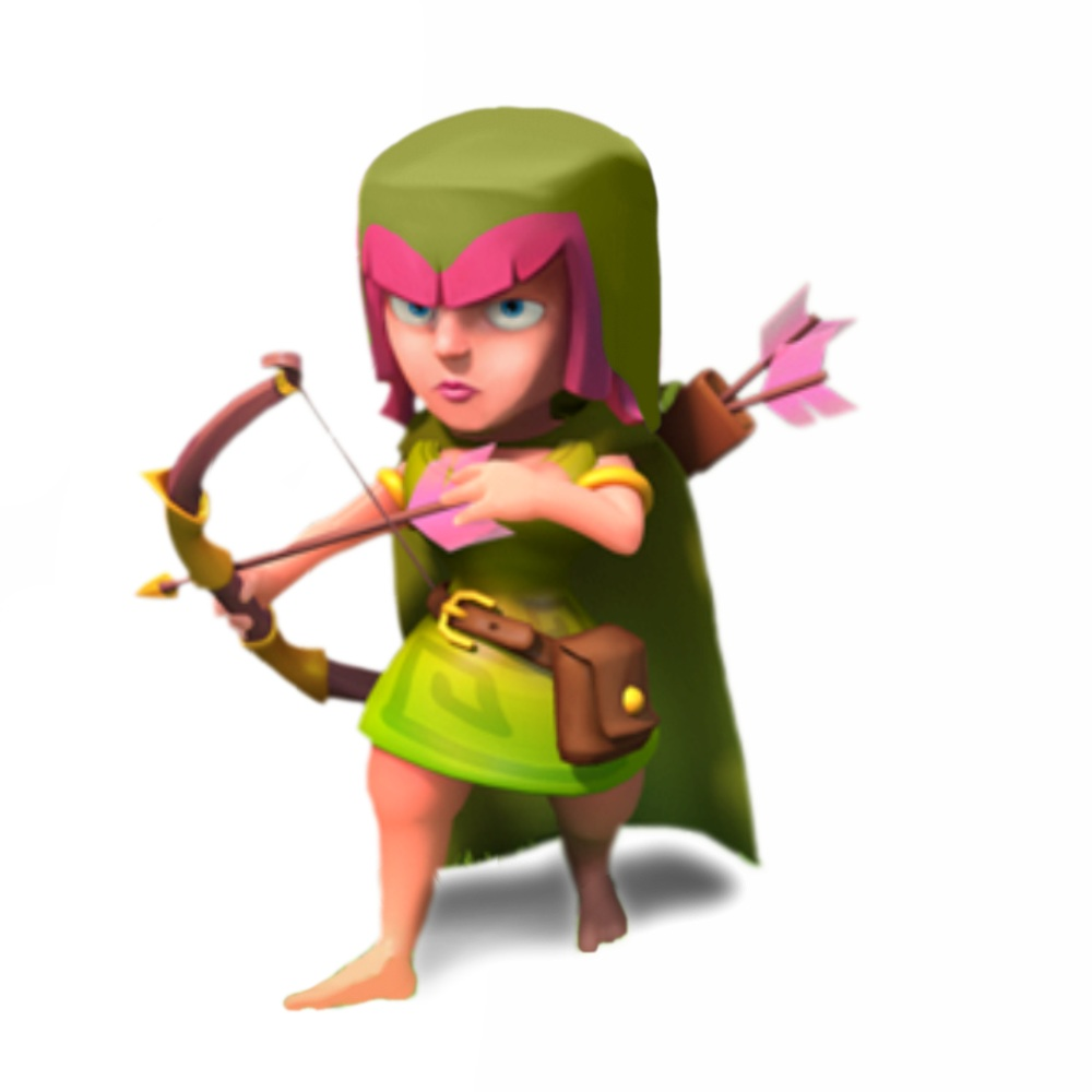 archer raid clash of clans wiki wallpaper archer raid clash of clans