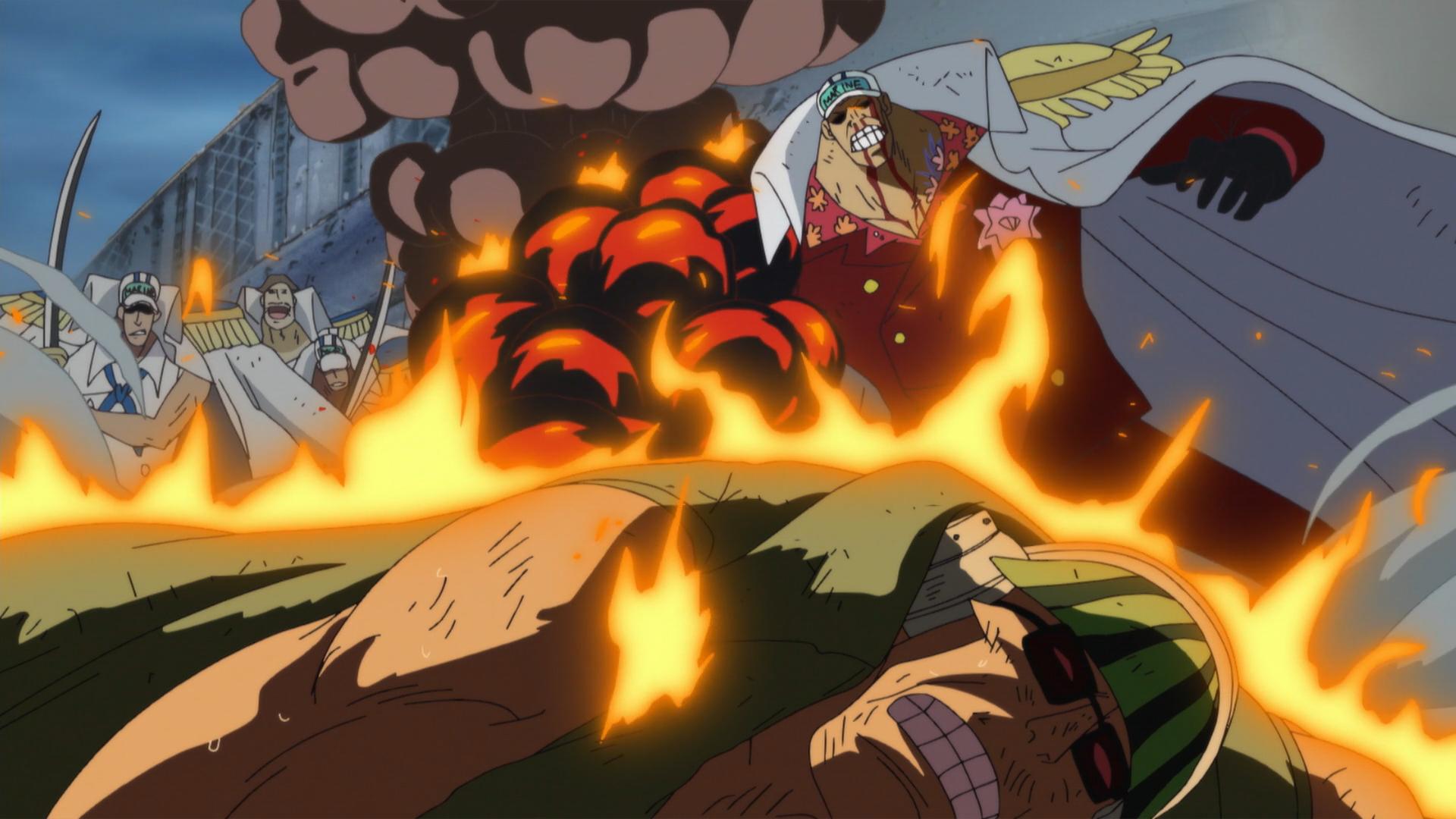 Akainu Vs Sabo (One Piece Rebirth Online Roblox)