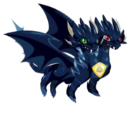 Pure Dark Dragon 2d