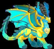 Pure elétrica do dragão 3b