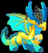 Pure elétrica do dragão 2b