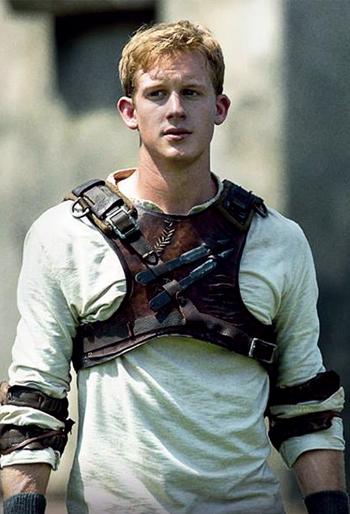 Ben after the changing maze runner