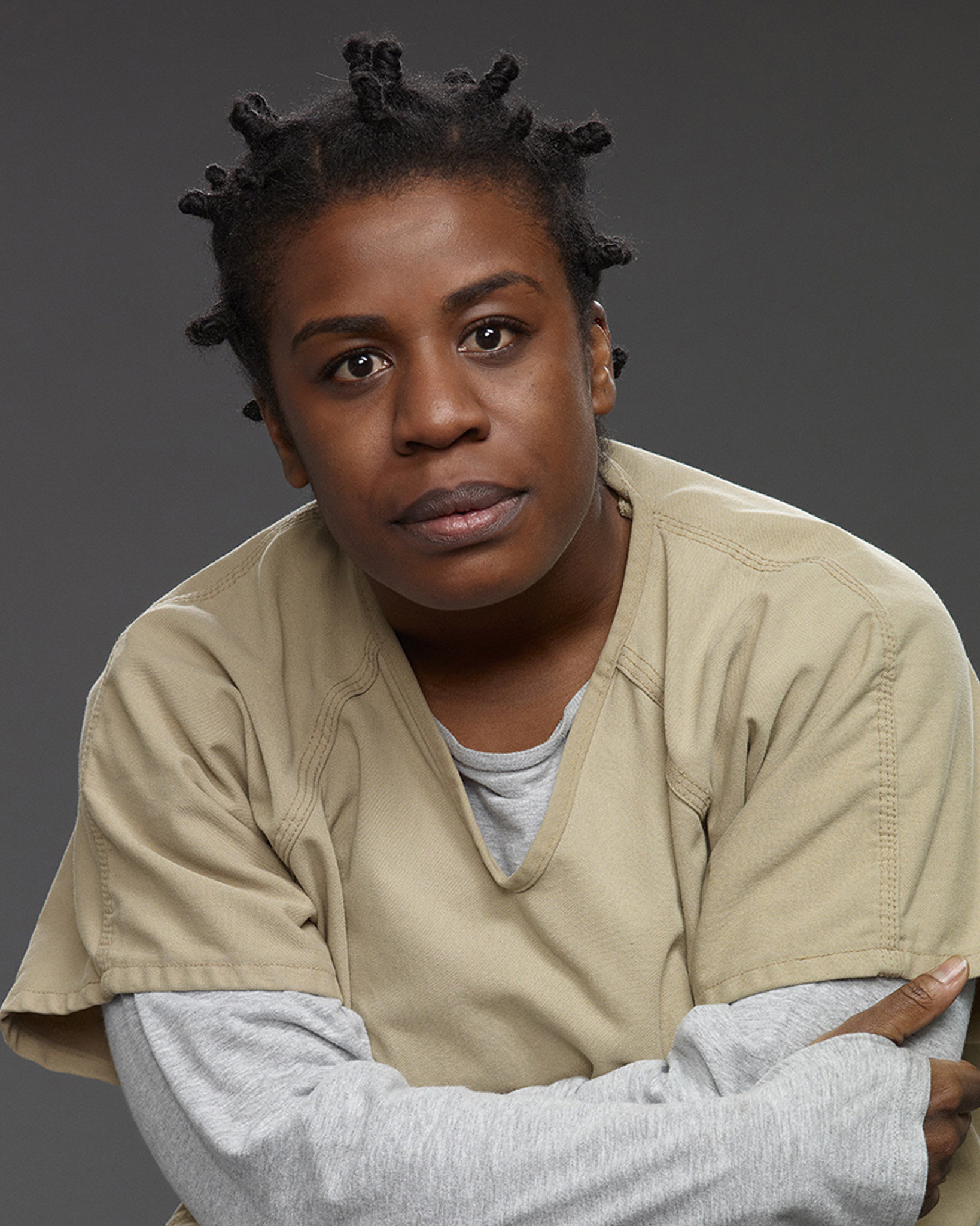 "Uzo Aduba's ""Crazy Eyes"""