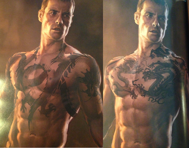 Read IRON MAN 3 Script Excerpt Of  The Mandarin  Reveal  Writer Says    Guy Pearce Iron Man 3 Tattoos
