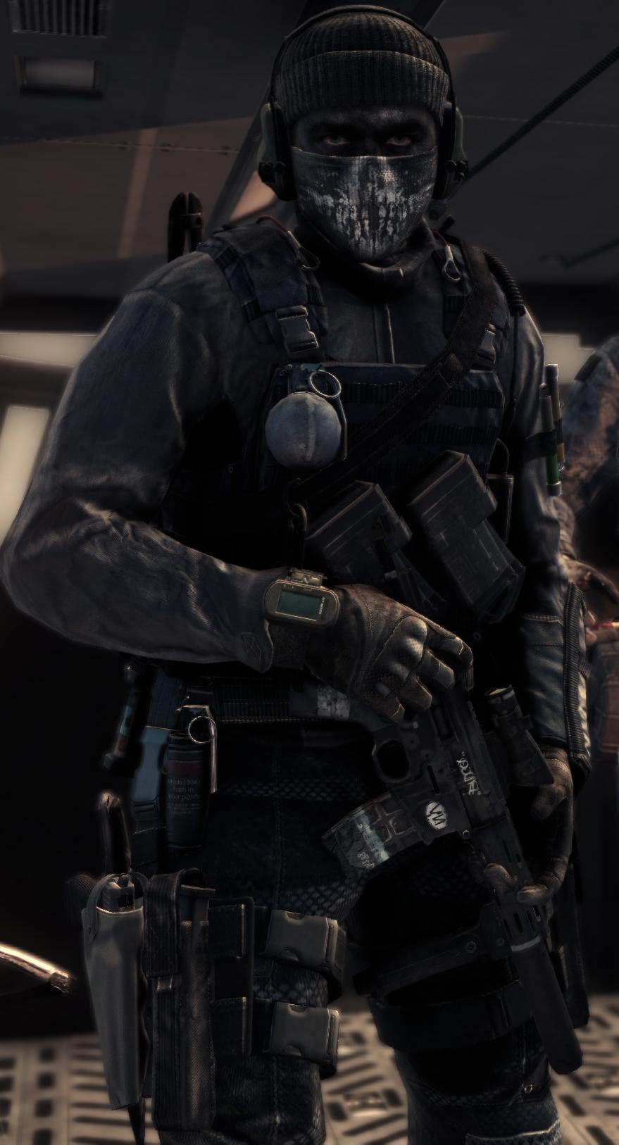 Call Of Duty Ghosts Keegan Wallpaper