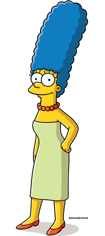 MBTI enneagram type of Marge Simpson