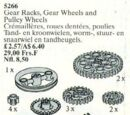 5266 Gear Racks, Gear Wheels and Pulley Wheels