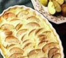Apple and Cheese Pudding