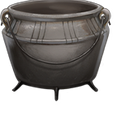 Pewter Cauldron