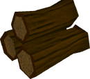 Yew logs
