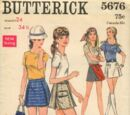 Butterick 5676 A