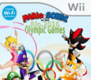 Mario and Sonic at the 2016 Rio Olympic Games (Baby Yoshi's Version)