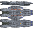Galactica Type Battlestar