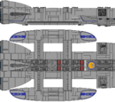 Spartan Class Battlestar (D8)