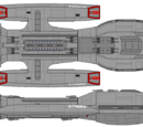 Athena Class Light Battlestar (D8)