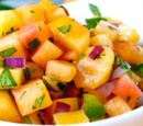 California Fusion Peach Salsa