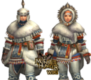 MHFU: High Rank Blademaster Armors