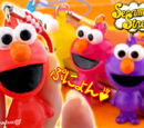 Elmo Gummi-Candy-Touch cell phone straps