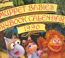 Muppet Babies Storybook Calendar 1990
