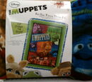 Muppet fleece throw kits