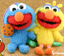 Elmo Costumed in Sesame Pals phone straps