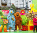 International Sesame Street crossovers