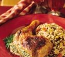 Arabian Nights Grilled Herbed Chicken