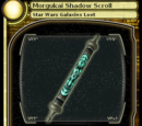Morgukai Shadow Scroll