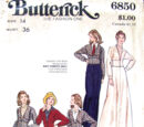 Butterick 6850 A