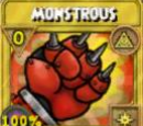 Monstrous Treasure Card