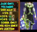 Jade Oni's Vestment