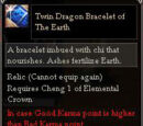 Twin Dragon Bracelet of The Earth