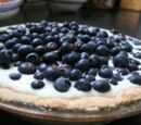 Vanilla Blueberry Tart