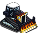 Hot Rod Bulldozer