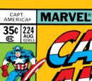 Captain America Vol 1 224