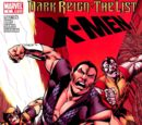 Dark Reign: The List - X-Men Vol 1 1