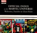 Wolverine, Punisher & Ghost Rider: Official Index to the Marvel Universe Vol 1 3
