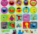 Sesame Street stickers (Innovative Designs)