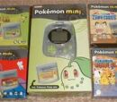 Pokémon Mini Cartridges (U.K.)