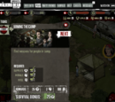 The Walking Dead Social Game Mission 3: Arming The Camp