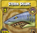 Storm Shark Treasure Card